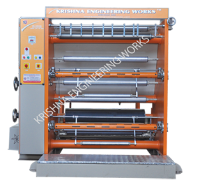 Slitting Rewinding Machine for Batch Printing / Coding