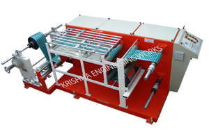 Special Application For Doctoring Rewinding Machine