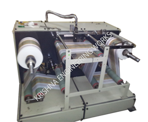 Table Top Doctoring Rewinding Machine