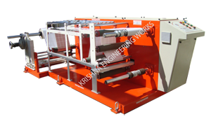 Winding Rewinding Sliting Machine with Two Stage Slitting